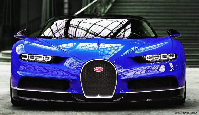 2017 Bugatti CHIRON - Color Visualizer - Draft Renderings 26