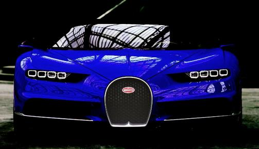2017 Bugatti CHIRON - Color Visualizer - Draft Renderings 31