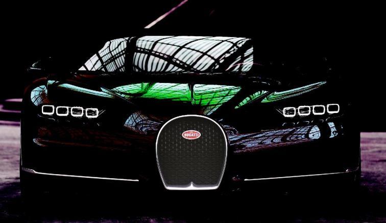 2017 Bugatti CHIRON - Color Visualizer - Draft Renderings 33