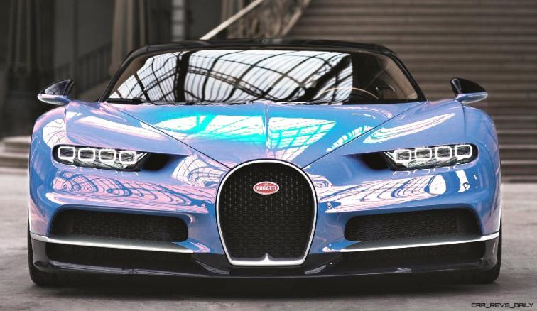 2017 Bugatti CHIRON - Color Visualizer - Draft Renderings 36