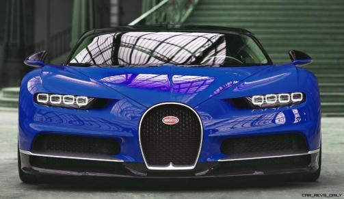 2017 Bugatti CHIRON - Color Visualizer - Draft Renderings 4