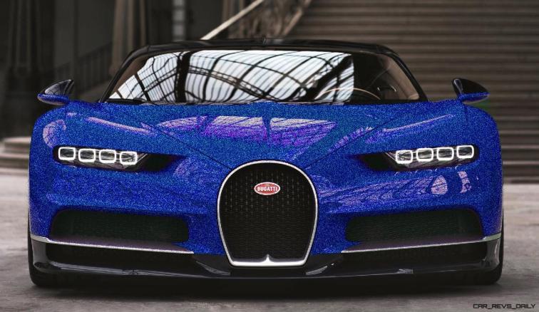 2017 Bugatti CHIRON - Color Visualizer - Draft Renderings 42