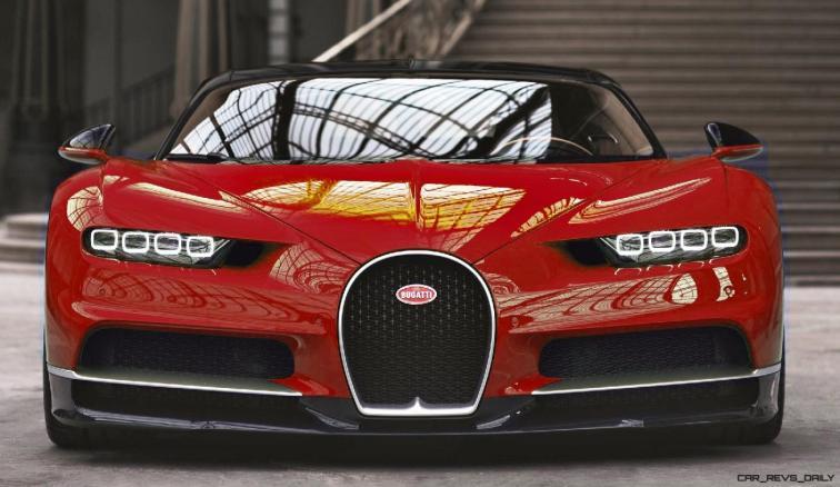 2017 Bugatti CHIRON - Color Visualizer - Draft Renderings 46