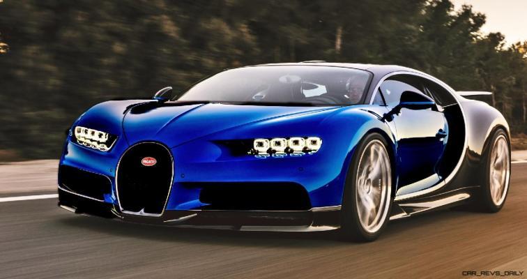 2017 Bugatti CHIRON - Color Visualizer - Draft Renderings 50