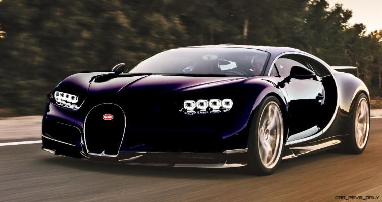 2017 Bugatti CHIRON - Color Visualizer - Draft Renderings 53