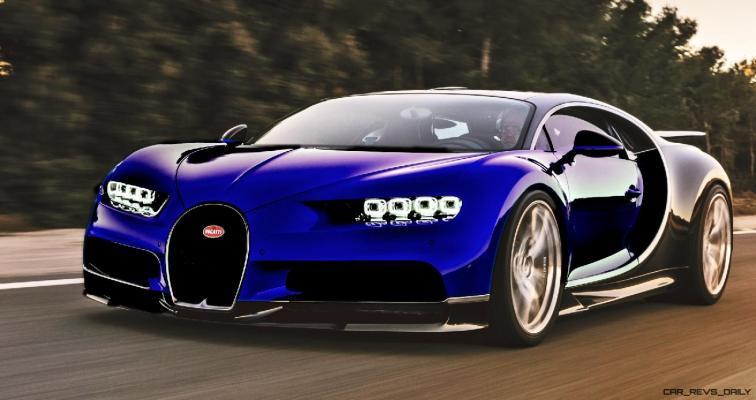 2017 Bugatti CHIRON - Color Visualizer - Draft Renderings 54