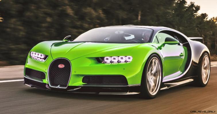 2017 Bugatti CHIRON - Color Visualizer - Draft Renderings 60