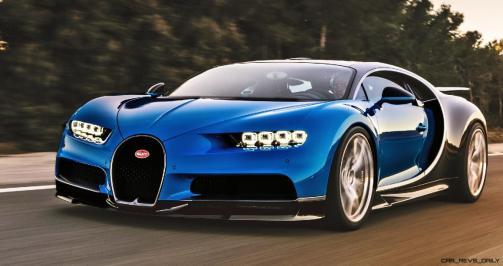 2017 Bugatti CHIRON - Color Visualizer - Draft Renderings 67