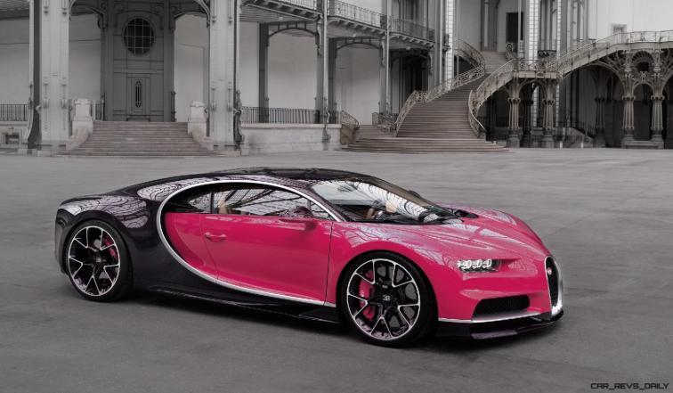 2017 Bugatti CHIRON - Color Visualizer - Draft Renderings 71