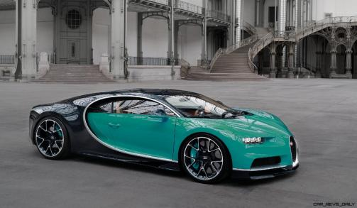 2017 Bugatti CHIRON - Color Visualizer - Draft Renderings 75
