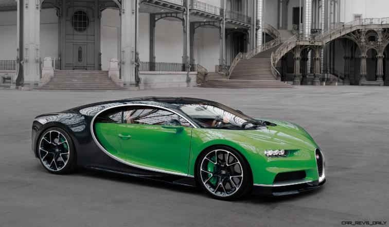 2017 Bugatti CHIRON - Color Visualizer - Draft Renderings 77