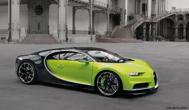 2017 Bugatti CHIRON - Color Visualizer - Draft Renderings 79