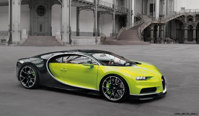 2017 Bugatti CHIRON - Color Visualizer - Draft Renderings 81