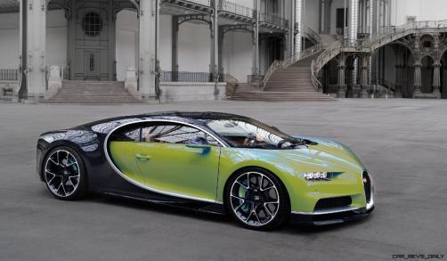 2017 Bugatti CHIRON - Color Visualizer - Draft Renderings 83
