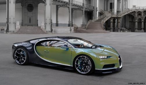 2017 Bugatti CHIRON - Color Visualizer - Draft Renderings 84
