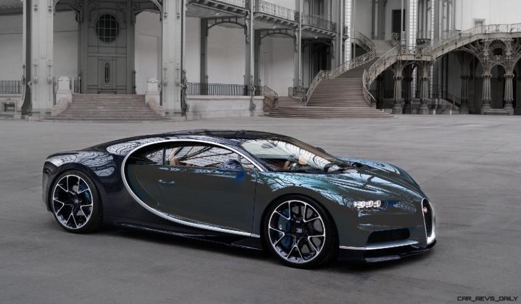 2017 Bugatti CHIRON - Color Visualizer - Draft Renderings 86