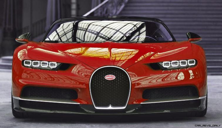 2017 Bugatti CHIRON - Color Visualizer - Draft Renderings 9
