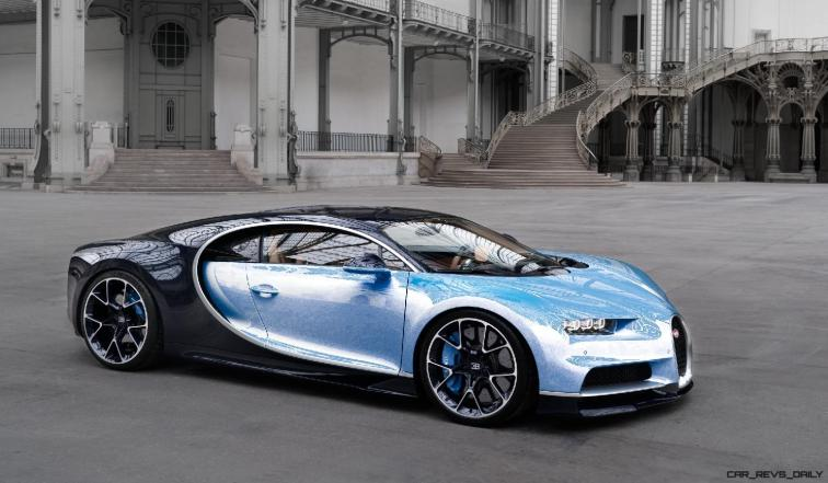 2017 Bugatti CHIRON - Color Visualizer - Draft Renderings 91