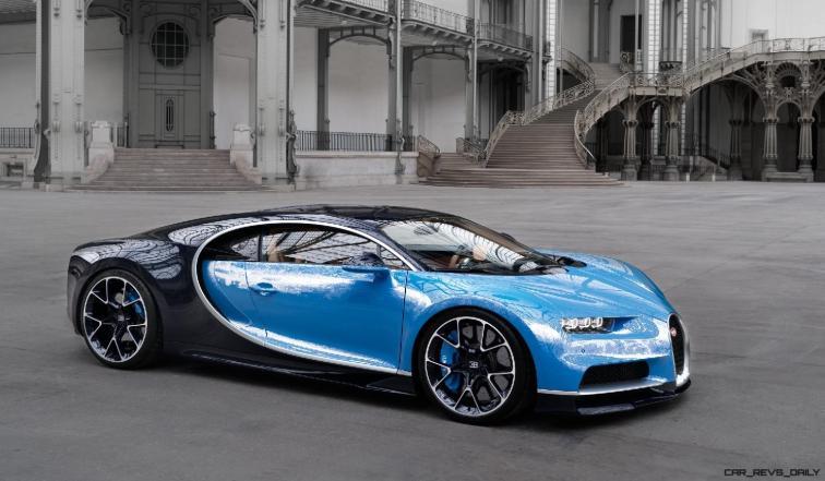 2017 Bugatti CHIRON - Color Visualizer - Draft Renderings 92