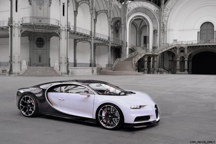 2017 Bugatti CHIRON - Colors 1