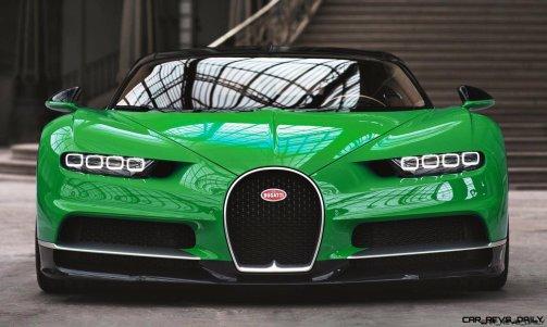 2017 Bugatti CHIRON - Colors 13
