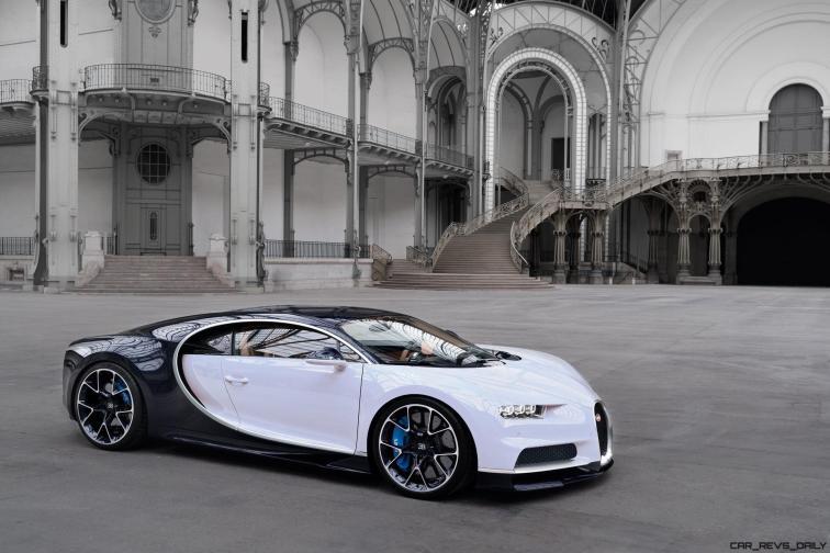 2017 Bugatti CHIRON - Colors 2