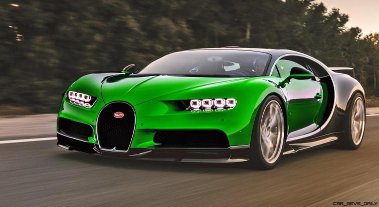 2017 Bugatti CHIRON - Colors 7