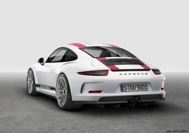 2017 Porsche 911R 10