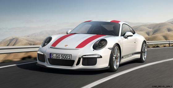 2017 Porsche 911R 3