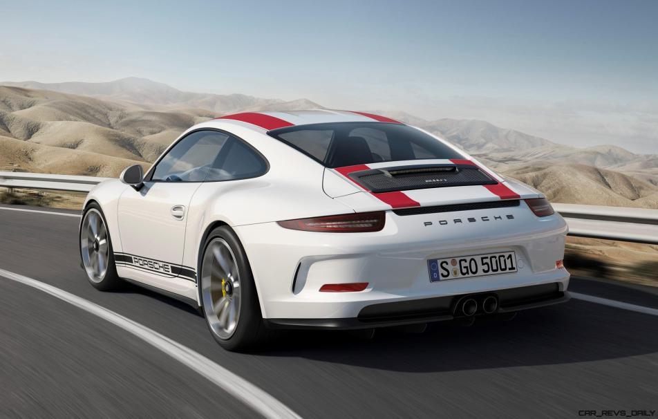 2017 Porsche 911R 4
