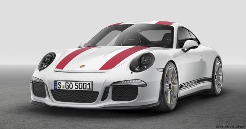 2017 Porsche 911R 9
