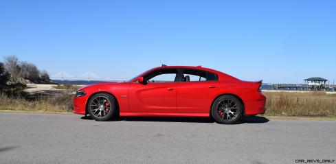 HD Road Test Review - 2016 Dodge Charger SRT392 40