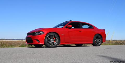 HD Road Test Review - 2016 Dodge Charger SRT392 43