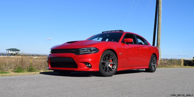 HD Road Test Review - 2016 Dodge Charger SRT392 45