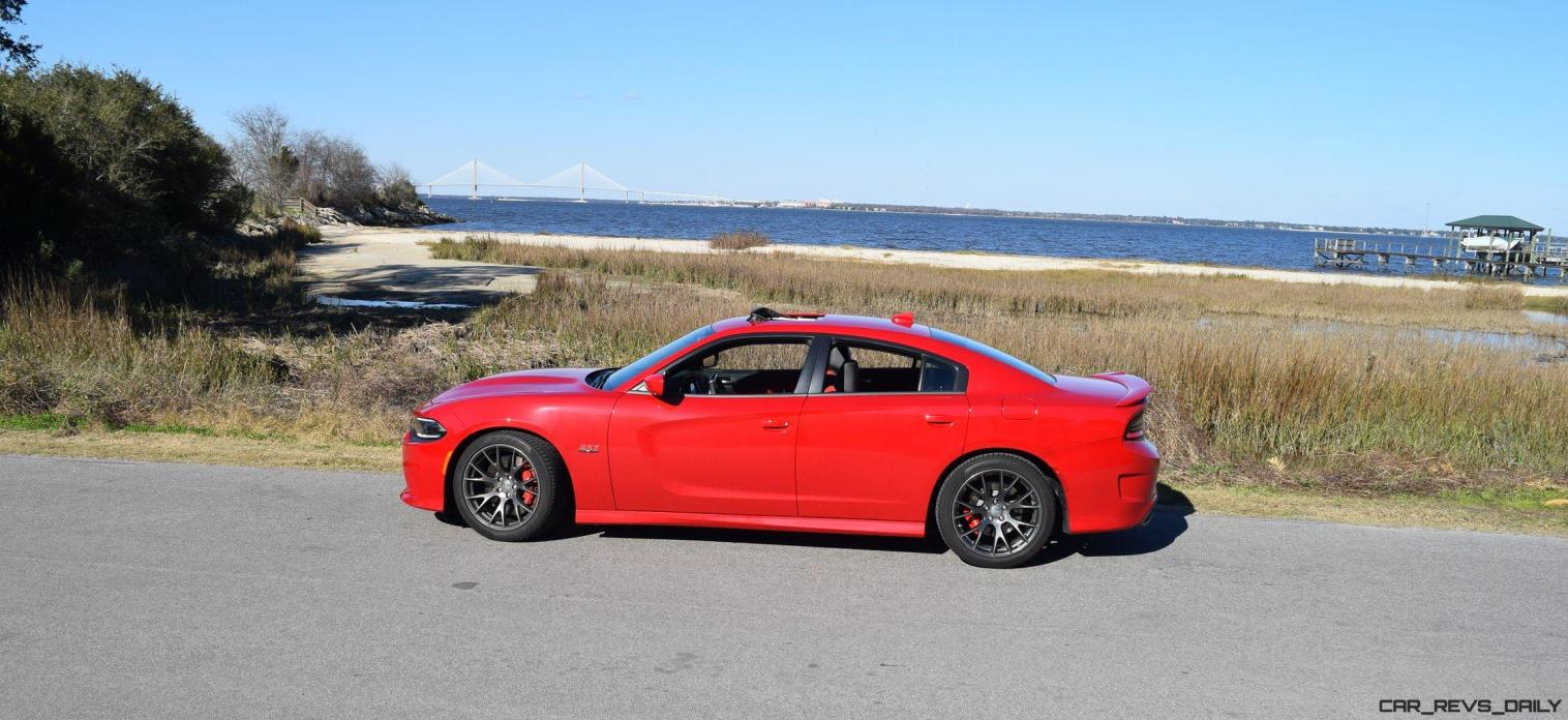 HD Road Test Review - 2016 Dodge Charger SRT392 58