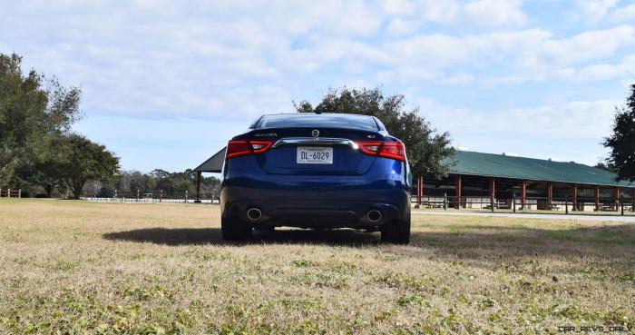 HD Road Test Review - 2016 Nissan Maxima SR 19