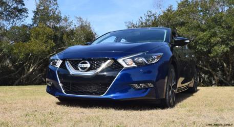 HD Road Test Review - 2016 Nissan Maxima SR 40