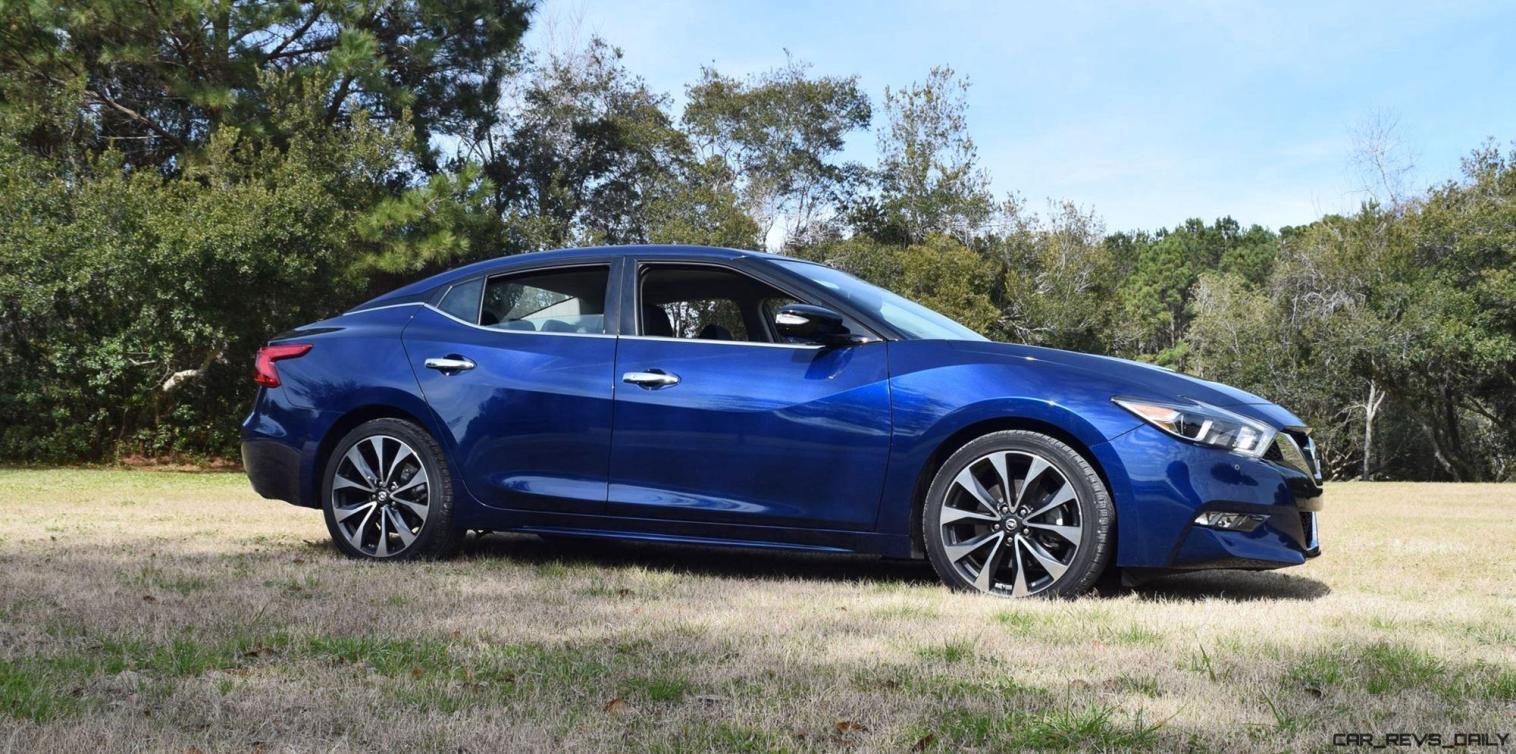 HD Road Test Review - 2016 Nissan Maxima SR 5