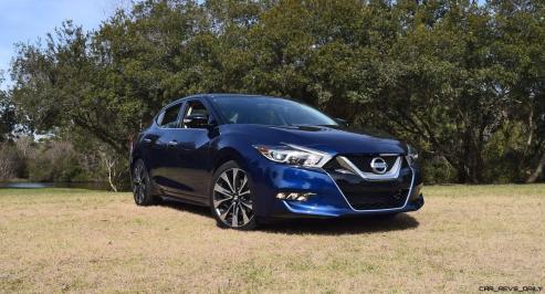 HD Road Test Review - 2016 Nissan Maxima SR 56