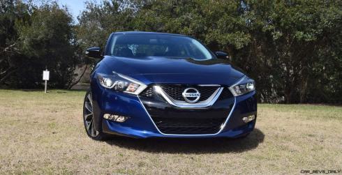 HD Road Test Review - 2016 Nissan Maxima SR 64