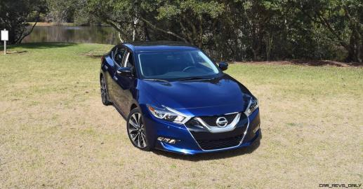 HD Road Test Review - 2016 Nissan Maxima SR 69