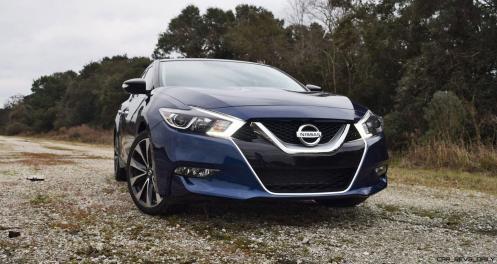 HD Road Test Review - 2016 Nissan Maxima SR 9