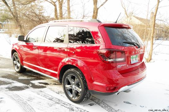 Hawkeye Drives - 2016 Dodge Journey Review 18