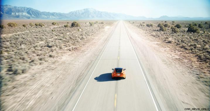 Michelle Rodriguez Roars Past 200MPH in F-Type 17
