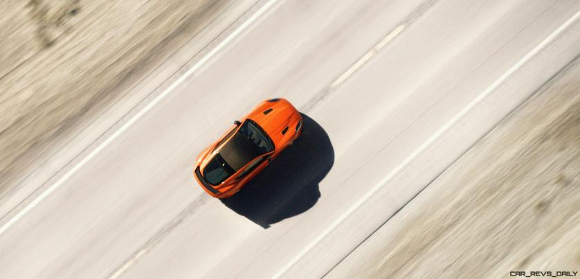 Michelle Rodriguez Roars Past 200MPH in F-Type 19