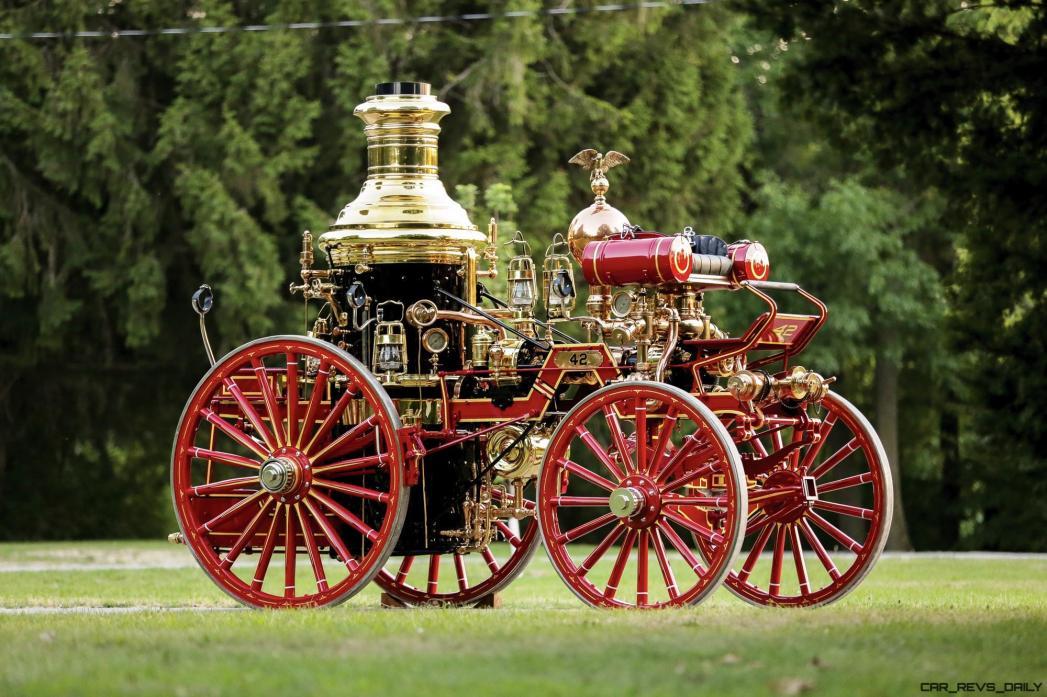 1894 Silsby Fourth Size Horse-Drawn Steam Pumper 16