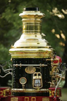 1894 Silsby Fourth Size Horse-Drawn Steam Pumper 3