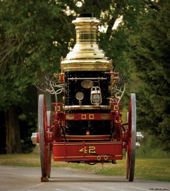1894 Silsby Fourth Size Horse-Drawn Steam Pumper 7