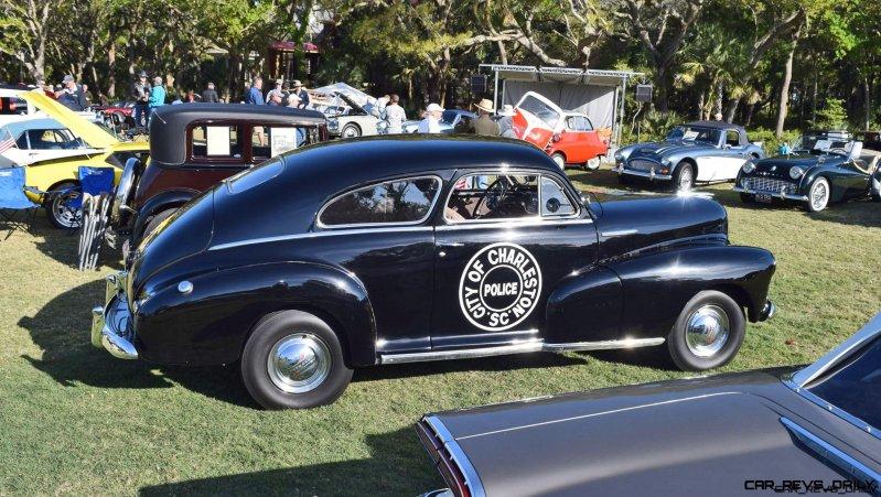 1948 Chevrolet Fleetline Aerosedan - Charleston Policecar 10