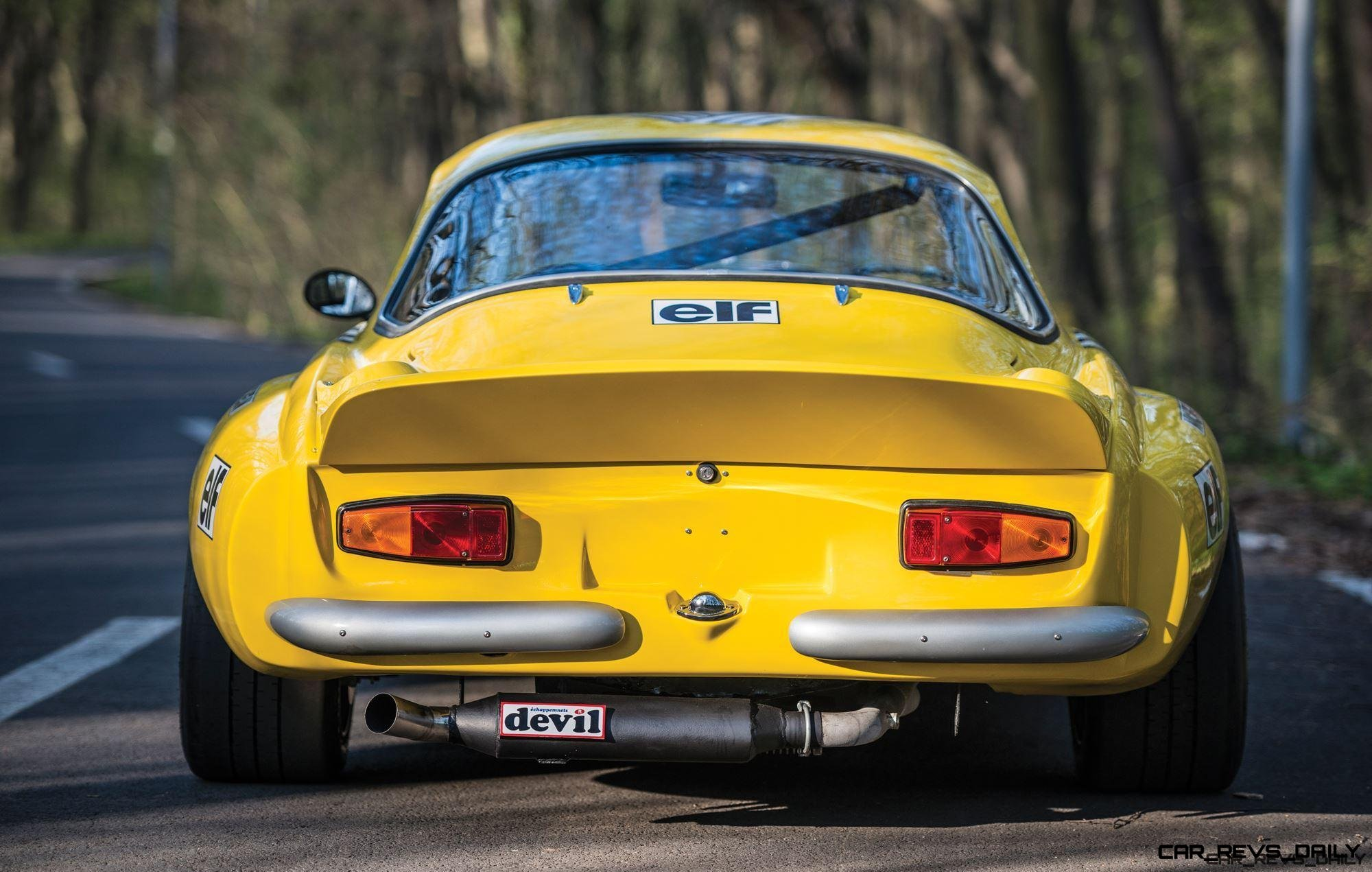 1965 Alpine-Renault A110 in Group 4 Rally Spec 12